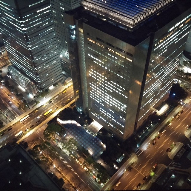 Photos of View from the observation deck. #Tokyo #japan #holyshit #nofilter
